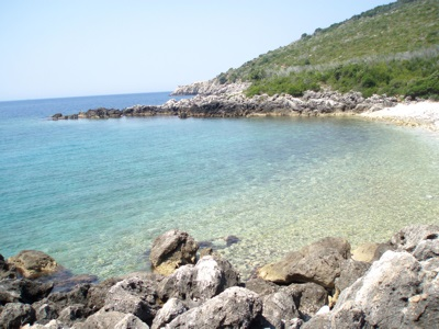 Himara region of Albania