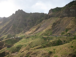 Serra Malagueta, the island of Santiago, Cape Verde